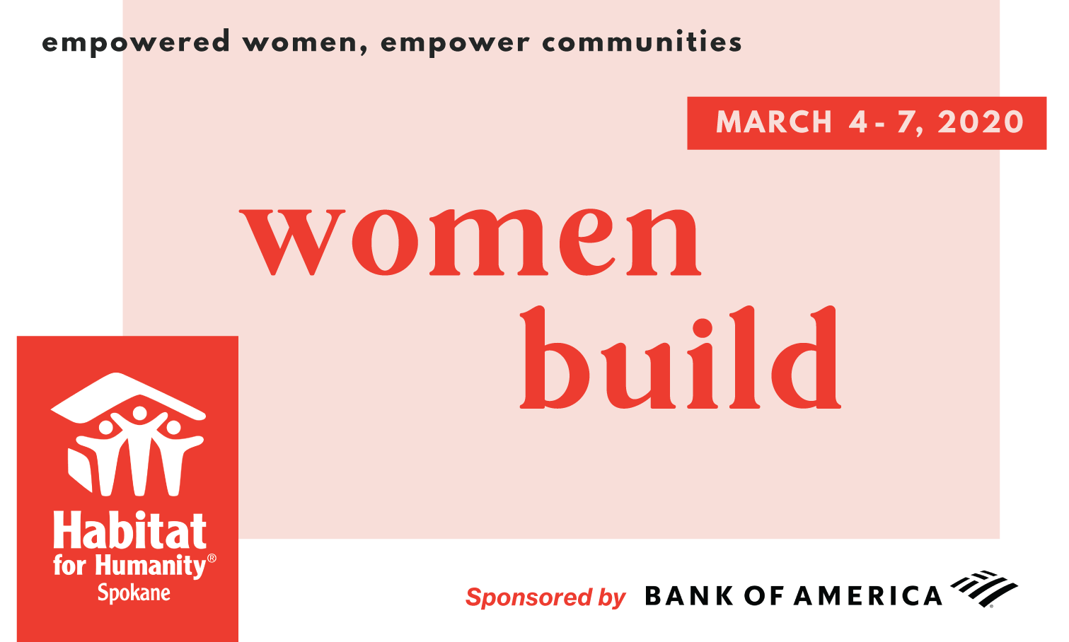 women build 2020 get involved!