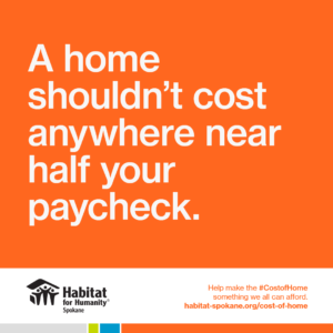 Cost of Home graphic