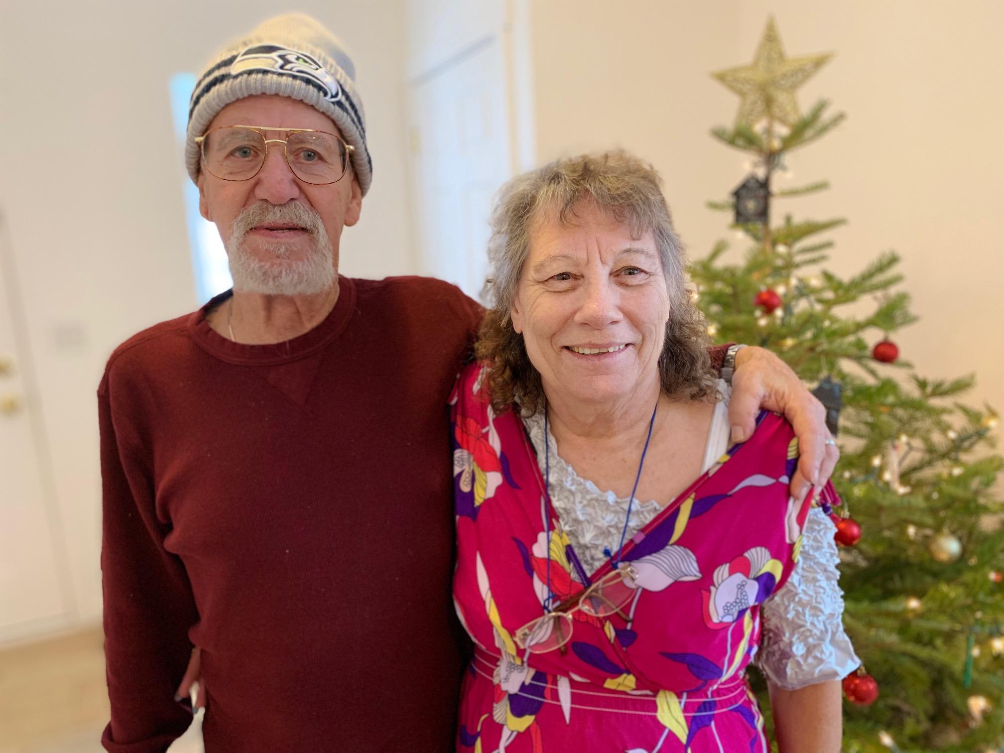 Faye and Ninky homeowners