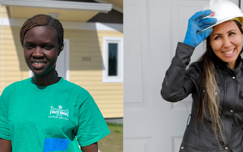 Two families to receive keys to their new  Habitat for Humanity home, June 14