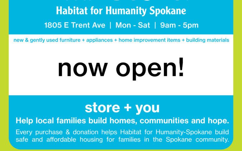 Habitat Store Open